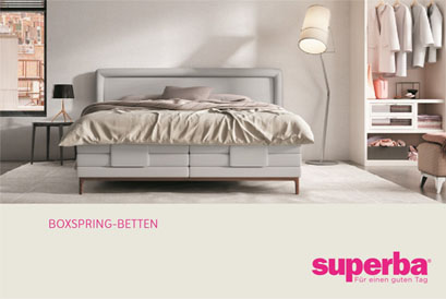 Boxspring-Betten Superga